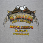 Trail Of Honor Tee Shirt Back
