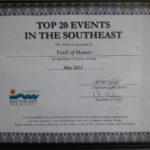 2011 STS TOP 20 Event Southeast Certificate