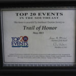 2013 STS TOP 20 Event Southeast Certificate