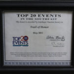 2015 STS TOP 20 Event Southeast Certificate